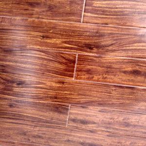 HDF AC4 Alto brillo de laminado de encerar el suelo de madera laminadas