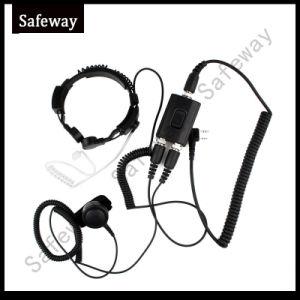 Control de la garganta al micrófono para Kenwood TK3107 TK3207, UV-5r
