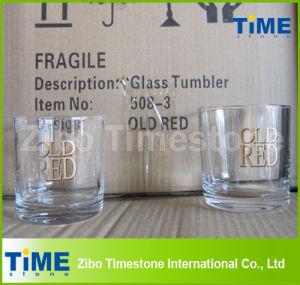 Fond rond de boire du thé Tumbler verre
