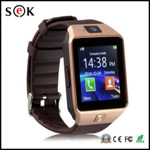 2017 Nuevo reloj inteligente Dz09 con la cámara, el reloj de pulsera Bluetooth Smartwatch tarjeta SIM para teléfonos Android Ios compatible con varios idiomas