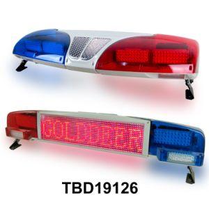 Träger LED-Bildschirmanzeige, die Lightbar (TBD19126, warnt)