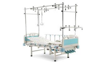 Manual de Elevação Straddle Four-Cranks Ortopedia Cama de tracção