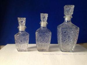Glass LidのガラスWine Bottles