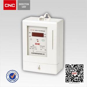 DDSY726 однофазного электронного Предварительно оплачиваемая доставка в эксплуатацию электронного ваттметра