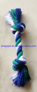 Cuerda de algodón de juguete hueso de perro