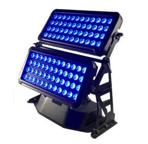 1개의 LED 옥외 벽 세탁기 빛에 대하여 72PCS RGBW 4