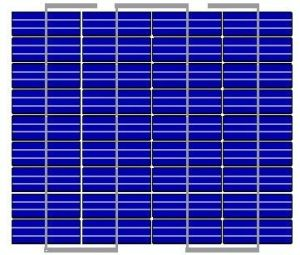 Hzs 30W Módulo Solar (SL-36280P)