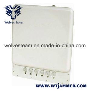 De regelbare Stoorzender van de Telefoon van de Cel & Stoorzender WiFi met Ingebouwde RichtingAntenne