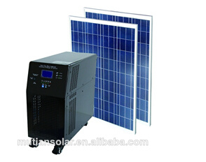 off-Grid Solar Energy Collector System