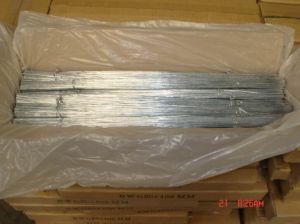 Corte o fio galvanizado 0,8mm para encadernação no prédio