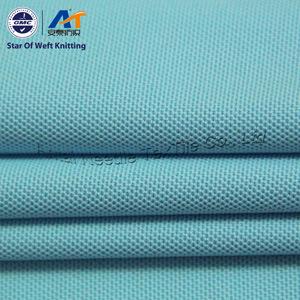 Tecido Pike, Cooldry 100% poliéster Piqué tecido de malha de camisa Polo (ATQ13-44)