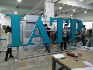 2018 최신 주문 옥외 스테인리스 Signage LED 표시