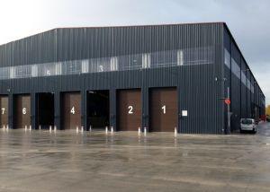 La norma ISO/certificadas SGS Prefabricados de estructura de acero de la luz de la Construcción de metal