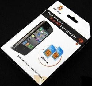 Doppel-SIM Energien-Fall für iPhone 4 (AL-001)