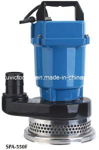 Qdx Alminium Corps de pompe submersible permanent (QDX12-7-0.55)