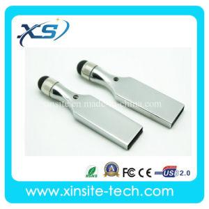 Портативный мини-Металлические ручки с сенсорным экраном флэш-накопитель USB (XST-UZ012)