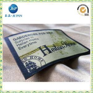 Comercio al por mayor ropa personalizada etiqueta tejida para prenda (JP-CL138)