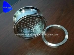 Piatto del filtrante del Tri-Morsetto con l'anello di compressione