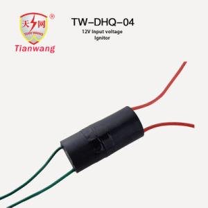 Cilindrische Universele Ignitor van de Impuls 12V gelijkstroom Transformator voor de Elektrostatische Collector van het Stof
