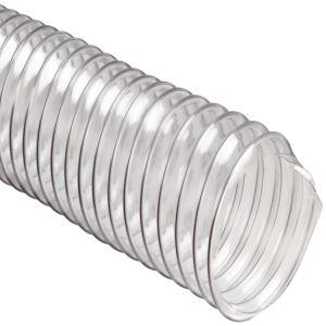 黄色いカラーの携帯用耐火性PVC送風管か適用範囲が広いダクト