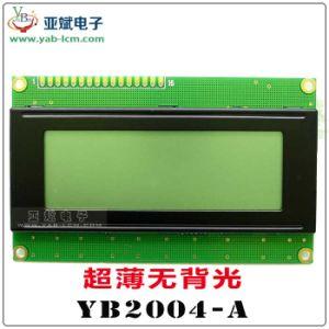 Schermo della matrice a punti del carattere di Yb2004A, ultrasottile nessuna lampadina
