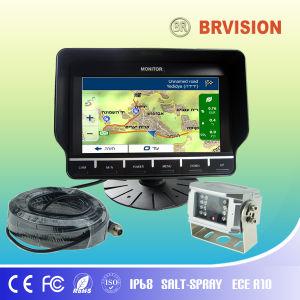 7 Polegadas do Sistema de Monitor Digital de Navegação GPS