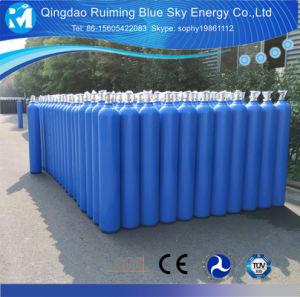 Bombola per gas del CO2 dell'elio dell'argon dell'azoto dell'ossigeno dell'acciaio senza giunte di norma ISO