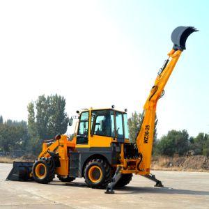 Backhoe van de Macht 60kw Lader de van uitstekende kwaliteit die in China wordt gemaakt