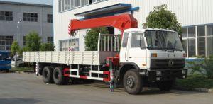 6*4 210 CV Cummins 10 Ton Truck Crane