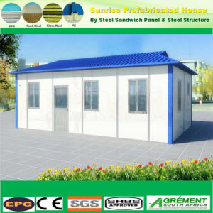 Muebles modulares prefabricados prefabricados, contenedor de moderna construcción de viviendas de la casa de la oficina