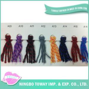 Bufanda que hace punto multicolor Craft Chunky Mezcla de acrílico Hilados de lana