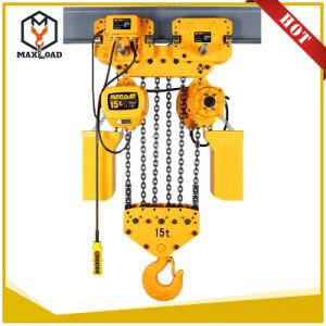 7,5 tonne palan électrique à chaîne avec crochet de suspension de type (7.5-03HHBB SS)