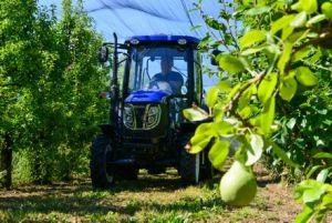 Het wieltractor van Agri van het Landbouwbedrijf van China Foton Lovol met Ce en EPA4