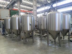 1000L/10hl depósito de fermentação de cerveja planta para produzir cerveja artesanal