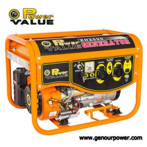 세륨을%s 가진 Battery 1.1kVA Gasoline Generator를 가진 힘 Value Easy Electric Start