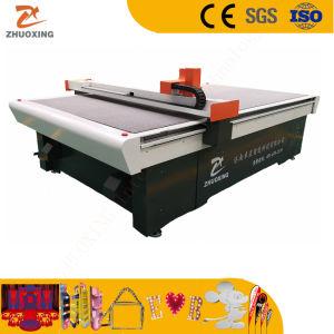 Suporte POS têxteis material publicitário de publicidade exterior no interior da máquina de corte CNC