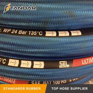 R5高圧適用範囲が広いワイヤー編みこみの油圧ゴム製ホース