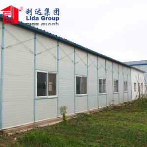 Estructura de acero de la luz del bastidor de acero de construcción de planes para casas prefabricadas