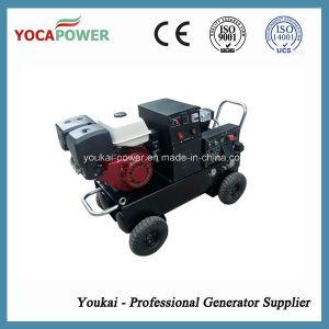 5kVA de energía eléctrica soldador portátil y el compresor de aire Generador Gasolina