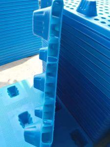 Mercadorias de plástico para serviço pesado sopradoras de plástico da bandeja Produto