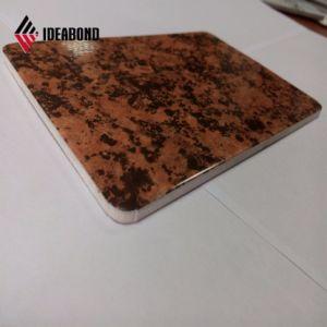 Texture de pierre d'aluminium panneau sandwich (AE-501)