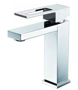 透かしの単一のレバーの正方形の真鍮の洗面器の蛇口(HD4201D11)
