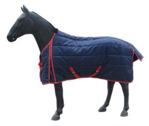 Hw646872, 420d poli, ha imbottito la coperta della scuderia di disegno 5cm*5cm, coperta del cavallo