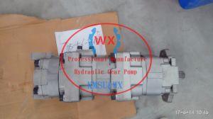 Wa350-1 cargadora de ruedas hidráulicas de la bomba de dirección de la bomba de engranaje 705-56-34130