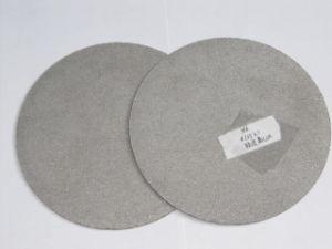 Aço inoxidável microporosa de titânio em pó sinterização de metal da chapa de papelão ondulado