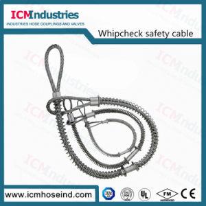 Assegno della frusta di sicurezza del cavo/tubo flessibile di sicurezza di Whipcheck