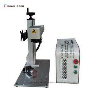 移動式腕時計は20W小型レーザーのマーキング機械価格に電話をかける