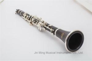 Profissional de madeira 17 o Tom das teclas Bb clarinete, o logotipo do OEM