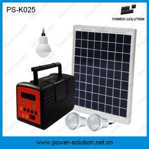 Radio FM integrado Sistema de Ahorro de Energía Solar con luz LED