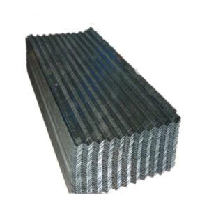 JIS G3302 SGCC tôle de toit ondulé galvanisé